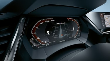 BMW Z4 - speedo