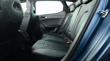 Cupra Leon - rear seats