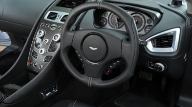 Aston Martin Vanquish Centenary Edition interior