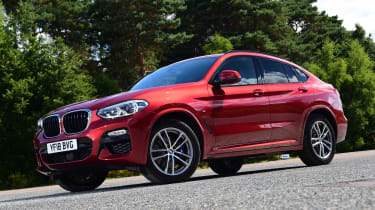 BMW X4 - front