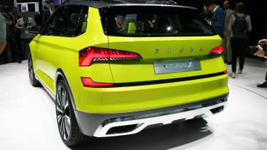 Skoda Vision X - Geneva rear