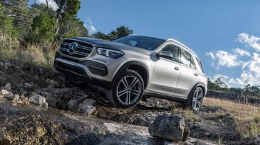 Mercedes GLE - front static off road