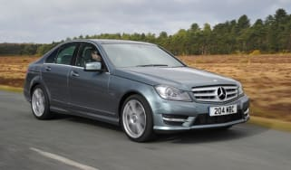 Mercedes C-Class front tracking
