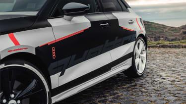 Audi S3 prototype - side profile