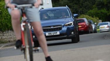 Subaru XV - full front action