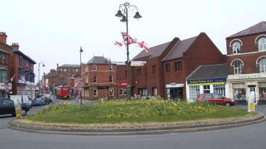 Daffodil roundabout, Leek