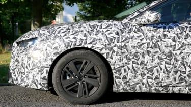 Peugeot 308 2021 spied