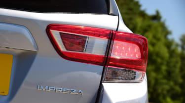 Subaru Impreza - taillight