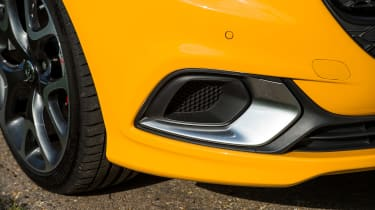 Vauxhall Corsa GSi - fog light