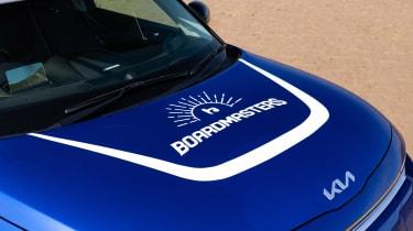 Kia Soul EV Boardmasters Edition - bonnet