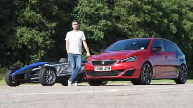 Long-term test review Peugeot 308 GTi - third report header