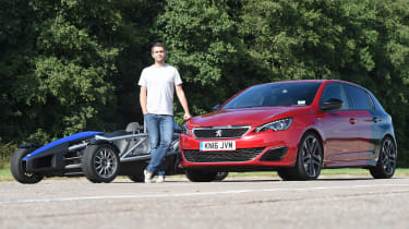 Long-term test review Peugeot 308 GTi - third report header