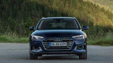 Audi A4 Avant 2019 head on