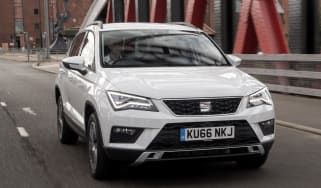 SEAT Ateca 1.4 TSI - front tracking