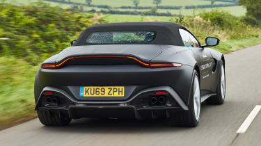 Aston Martin Vantage Roadster - rear