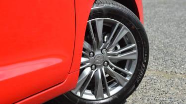 Suzuki Baleno - wheel detail