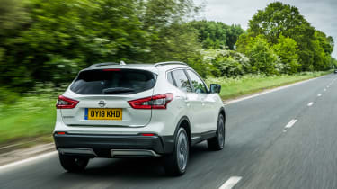 Nissan Qashqai ProPILOT - rear action