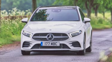 Mercedes A 180 d - front tracking