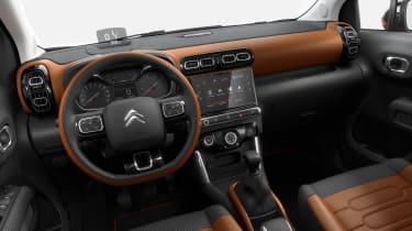 Citroen C3 Aircross - dash