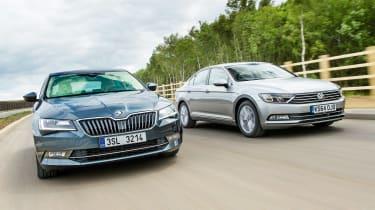 Skoda Superb vs Volkswagen Passat