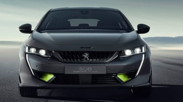 Peugeot 508 Sport Engineered concept - full front