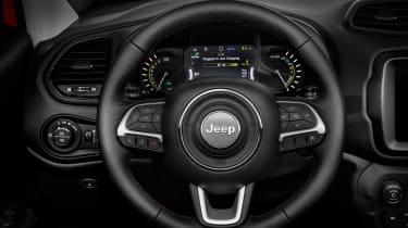 Jeep Renegade PHEV - steering wheel