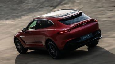 Aston Martin DBX - rear track
