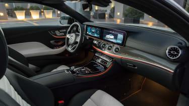 Mercedes E-Class Coupe - AMG Line interior