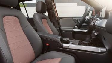 Mercedes EQB - front seats
