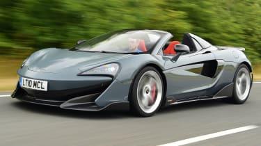 McLaren 600LT Spider - front tracking