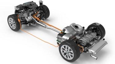 BMW 330e - wheelbase