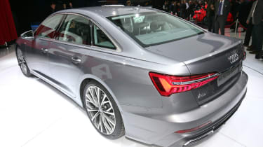 New Audi A6 - Geneva rear