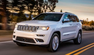 Jeep Grand Cherokee Summit - front