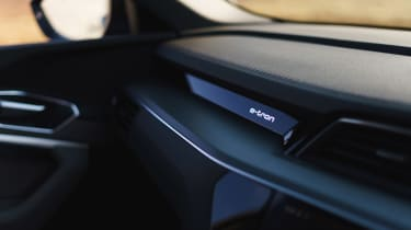 Audi e-tron - interior trim