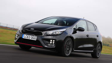 Kia Cee'd GT Tech - front tracking