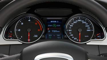 Audi S3 Sportback interior detail