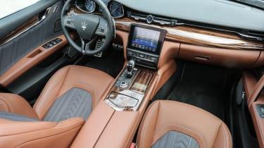 Maserati Quattroporte Diesel 2016 - interior 2