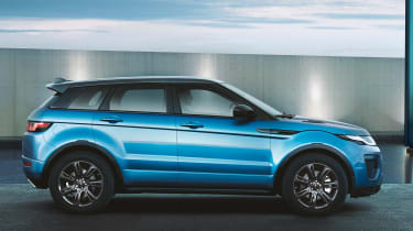 Land Rover Evoque Landmark side profile