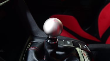 Honda Civic Type R long-term test review - gear lever
