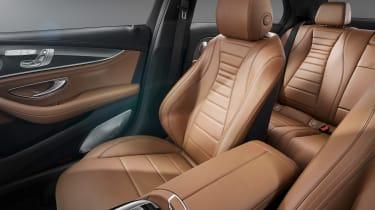 Mercedes E-Class front seats
