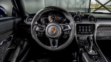 Porsche Boxster GTS 4.0 PDK interior