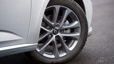 Renault Megane - wheel detail