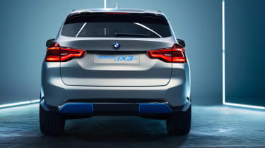 BMW iX3 - full rear