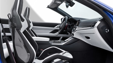 BMW M4 Competition Convertible - front seats