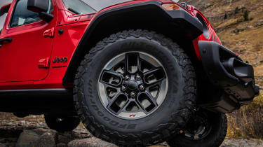 New Jeep Wrangler - wheel