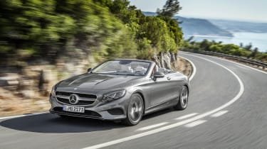 Mercedes S-Class Cabriolet 9