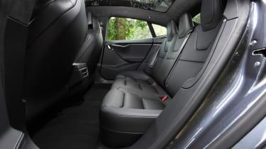 Tesla Model S Long Range - rear seats