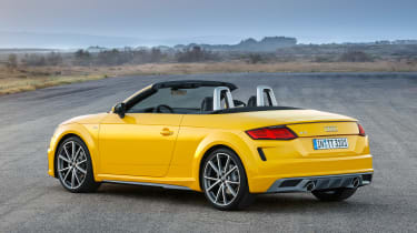 Audi TT Roadster - rear static