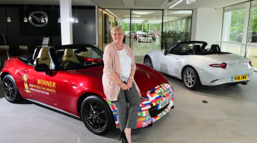 Long-term test review Mazda MX-5 - second report header
