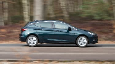 Vauxhall Astra - side